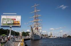 La nave di navigazione Fotografie Stock Libere da Diritti