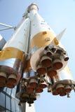La nave espacial: un monumento fotografía de archivo