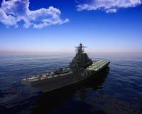 La nave militar Foto de archivo