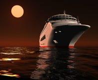 La nave moderna Fotografia Stock Libera da Diritti