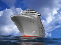 La nave moderna Fotografie Stock Libere da Diritti