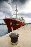 La nave rossa Fotografia Stock Libera da Diritti
