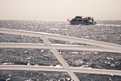 La nave sul mare Fotografia Stock