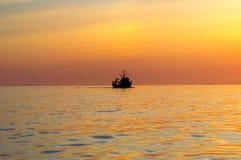 La nave va al mar imágenes de archivo libres de regalías