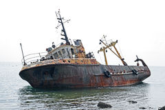 La nave vieja imagen de archivo libre de regalías