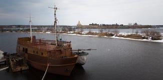 La nave vieja Foto de archivo