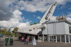La navette spatiale soviétique Buran Photos libres de droits
