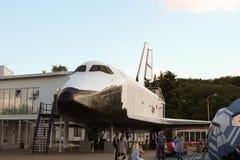 La navette spatiale soviétique de disposition Buran chez le VDNKh VVC Photos stock