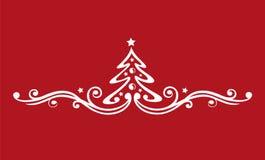 La Navidad, árbol ilustración del vector
