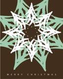 La Navidad 1 de la tarjeta de felicitación Imagen de archivo libre de regalías