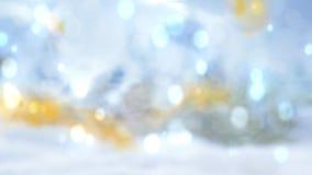 La Navidad almacen de metraje de vídeo