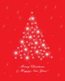 La Navidad 2 de la tarjeta de felicitación Foto de archivo libre de regalías