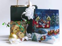La Navidad 2 que hacen compras Fotos de archivo libres de regalías