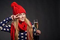La Navidad, Año Nuevo, concepto de la celebración de las vacaciones de invierno Fotografía de archivo