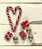 La Navidad, Año Nuevo, día del ` s de la tarjeta del día de San Valentín Fotografía de archivo libre de regalías