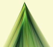 La Navidad abstracta del fractal, Año Nuevo, abeto Foto de archivo