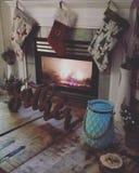 La Navidad acogedora foto de archivo libre de regalías