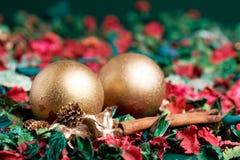 La Navidad adornó Foto de archivo