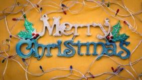 La Navidad adorna el fondo de los ornamentos Imagenes de archivo