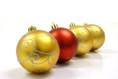 La Navidad adorna la bola Imagenes de archivo