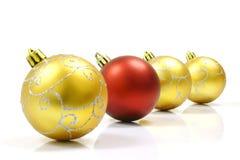 La Navidad adorna la bola Fotos de archivo libres de regalías