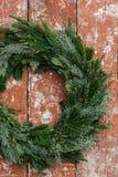 La Navidad Advent Wreath Imágenes de archivo libres de regalías