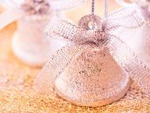 La Navidad - alarmas de cascabeleo Foto de archivo libre de regalías