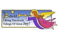 La Navidad Angel Behold Imágenes de archivo libres de regalías