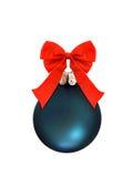 La Navidad babuble con el arqueamiento. Aislado Foto de archivo libre de regalías