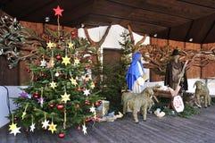 La Navidad Belén Imágenes de archivo libres de regalías
