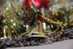 La Navidad Bell Foto de archivo