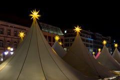 La Navidad Berlín de la noche Imagen de archivo