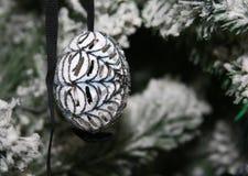 La Navidad blanca Imagen de archivo