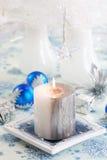 La Navidad blanca Imágenes de archivo libres de regalías