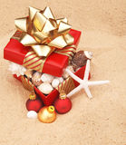 La Navidad caliente del tiempo Imagen de archivo libre de regalías