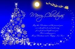 La Navidad card-03 Imagen de archivo libre de regalías