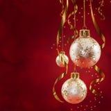 La Navidad clásica Fotografía de archivo libre de regalías