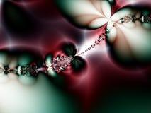 La Navidad colorea el fondo abstracto con las perlas Imagen de archivo libre de regalías
