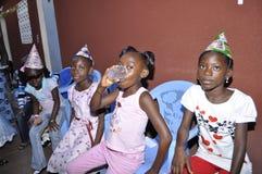 LA NAVIDAD CON LOS NIÑOS Foto de archivo libre de regalías