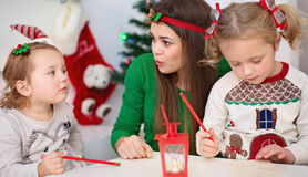 La Navidad, concepto del Año Nuevo Foto de archivo