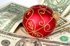 La Navidad costosa imagen de archivo libre de regalías