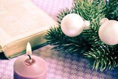 La Navidad cristiana Fotografía de archivo libre de regalías