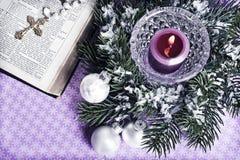 La Navidad cristiana Imagen de archivo