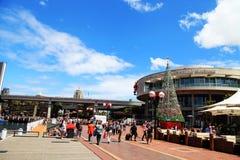 La Navidad @ Darling Harbour Sydney Australia foto de archivo libre de regalías