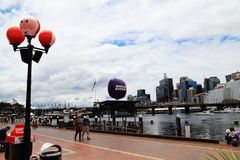 La Navidad @ Darling Harbour Sydney Australia imagen de archivo libre de regalías