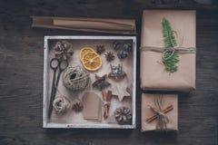 La Navidad de Diy Imágenes de archivo libres de regalías