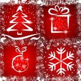 La Navidad de Grunge Fotos de archivo libres de regalías