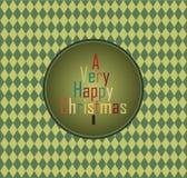 La Navidad de Hppy ilustración del vector