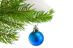 La Navidad de la bola Fotos de archivo