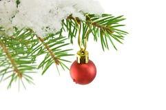 La Navidad de la bola Imagenes de archivo